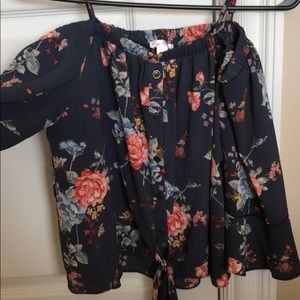 Off the shoulder top from target